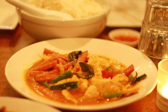 Tahruah Thai & Vietnamese Restaurant: Thai Red Curry