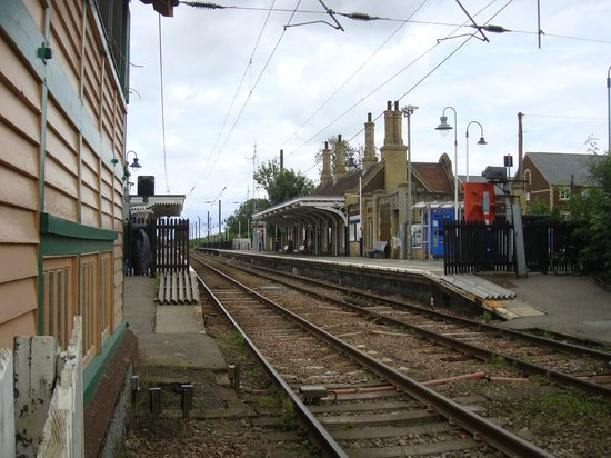 Downham Market station, the signal box