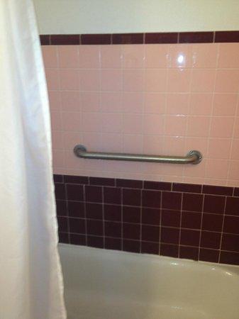 Ocean Court Motel: shower