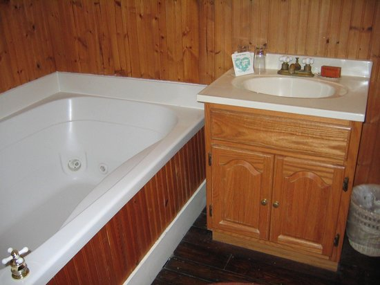 The Mason Cottage Bed & Breakfast Inn : The Jacuzzi Tub