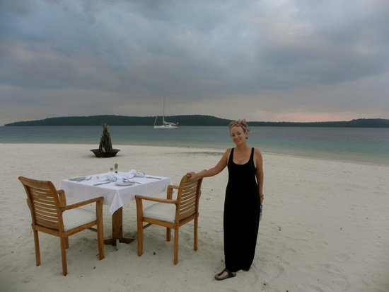 The Havannah, Vanuatu: This is where we got engaged later in the evening!!