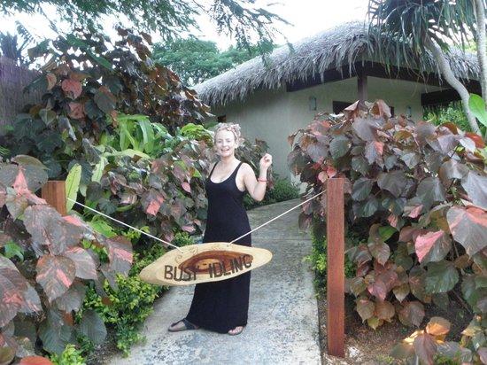 The Havannah, Vanuatu : Best Do Not Disturb signs ever!