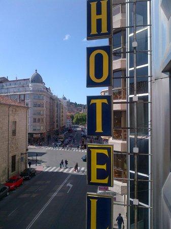 Sercotel Hotel Corona de Castilla: view from 207