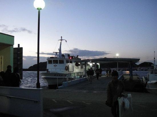 Matsuya : 夕景の船着場
