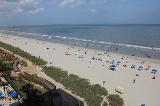 SeaGlass Tower: view from balcony