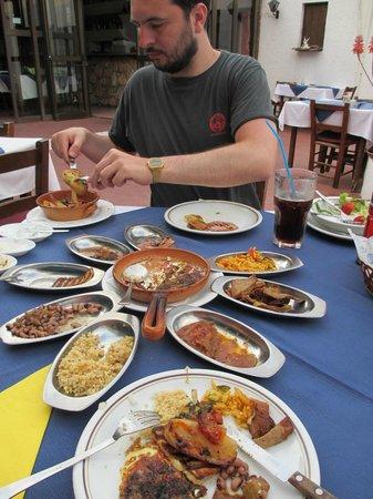 Napa House Restaurant: The Meze