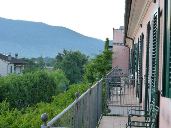 Villa Zuccari : Från min balkong