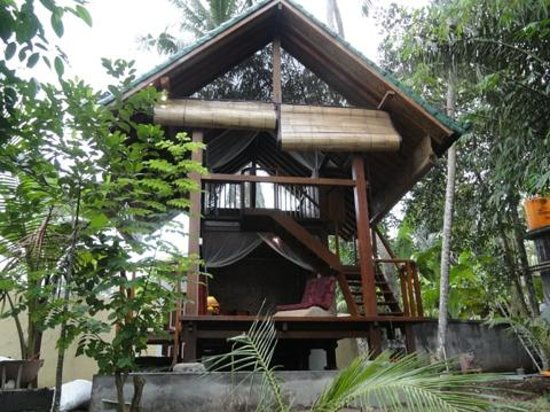 Jiwa Damai Organic Garden & Retreat: Lumbung in the organic garden