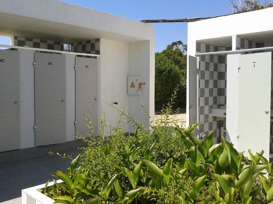 Camping Marina d'Aleria: jolis et propres sanitaires