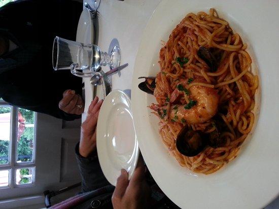 La Mimosa : seafood spaghetti