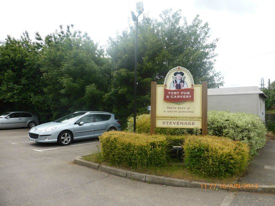 Old Forge Toby Carvery: Ample Car parking spaces