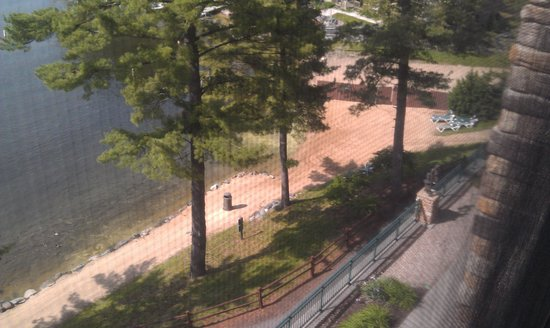 Wilderness on the Lake : beach view