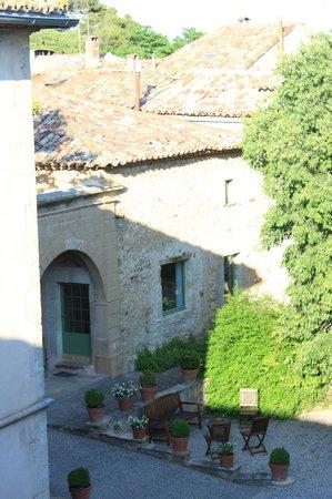 Château de Jonquières : Vue de la tarrasse