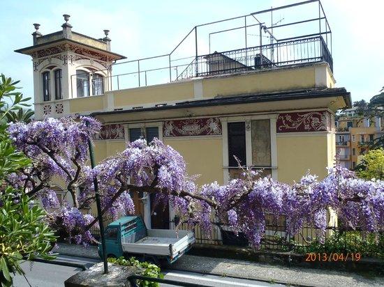 Villa Olimpo B&B: Across Street from Villa