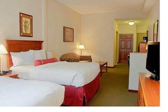 BEST WESTERN PLUS Sandusky Hotel & Suites: Our bedroom