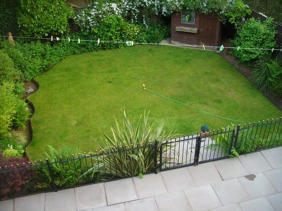 Middleton Hall Hotel: propietors garden