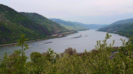 Burg Stahleck: view