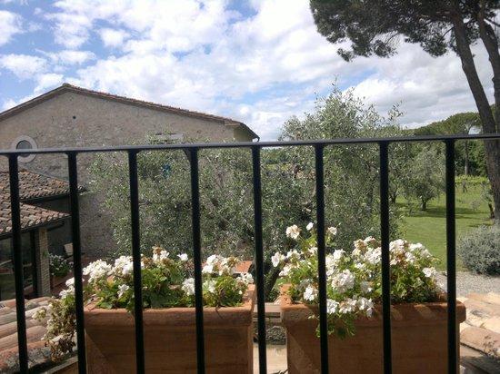 Villa Acquaviva: terrazzino a tasca