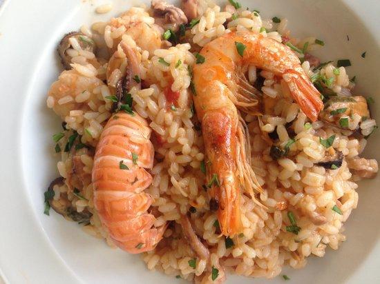 Isola Varano: risotto pescatora