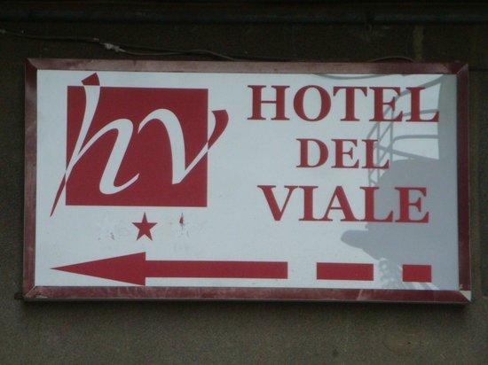 Hotel del Viale : insegna