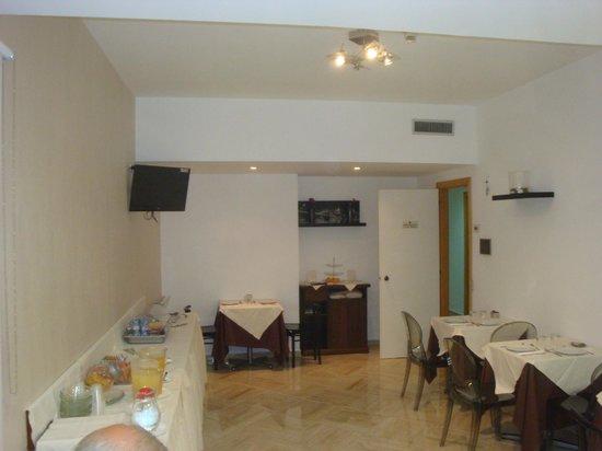 Hotel del Viale: sala colazione