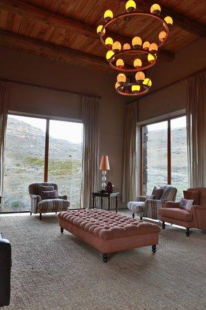 Tenahead Lodge: Lounge