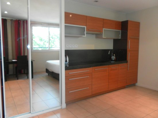 Villa Carnot: cucina