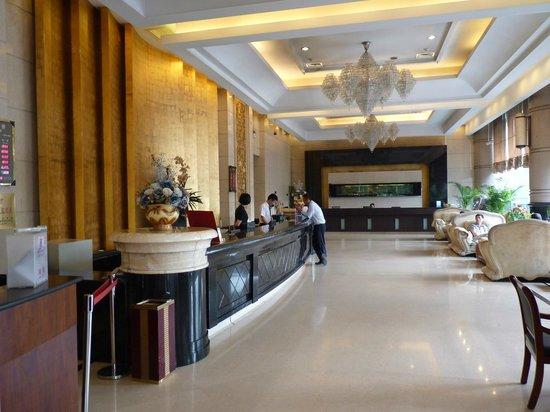 King Dynasty Hotel: Reception