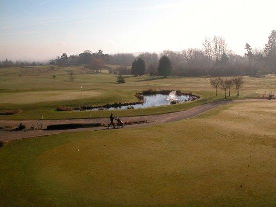 Ufford Park Woodbridge Hotel, Golf & Spa: View from premium room balcony