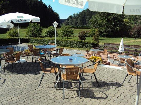 Gasthof Zum Diemeltal: Biergarten