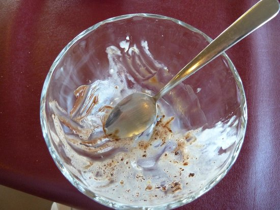 The Three Bears Creamery Cottage: All that was left was the spoon