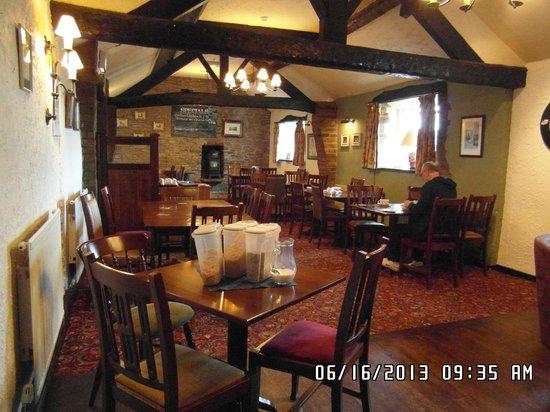 Robin Hood Inn : Breakfast Area