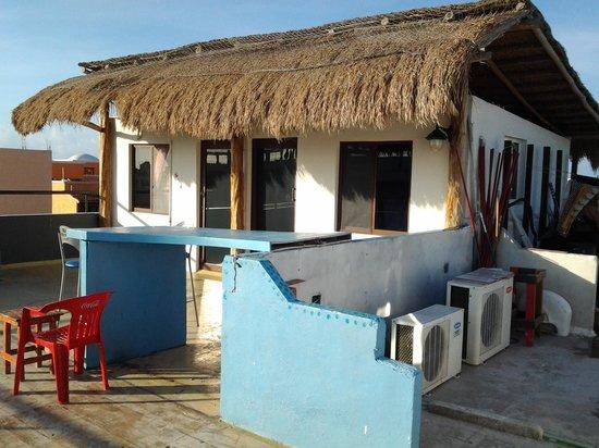 Hostel Rio Playa : Roof top dormitory