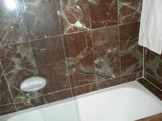 Occidental Murcia Siete Coronas: baño. esos azulejos hacen daño a la vista