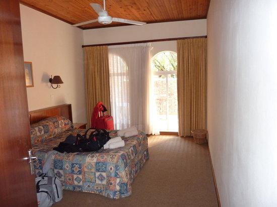 Kleinplaas Holiday Resort : 1 van de slaapkamers