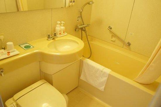Kagoshima Tokyu REI Hotel: 浴室洗面トイレ