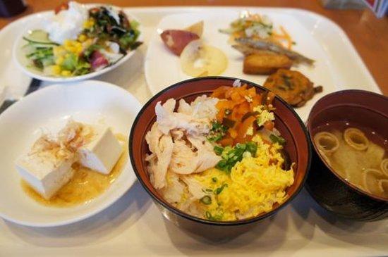Kagoshima Tokyu REI Hotel: 朝食バイキング