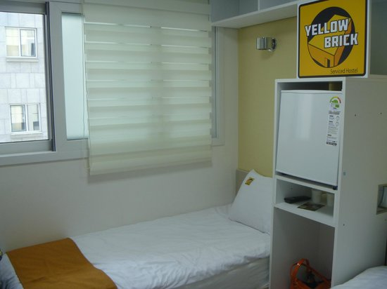 Yellow Brick Hostel: our room