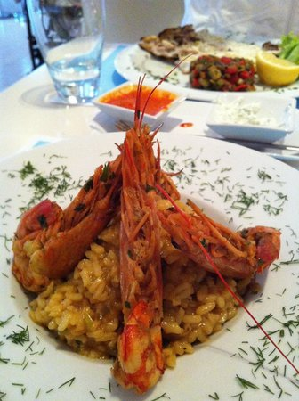 Franca Scala: Nice and tasty risotto!