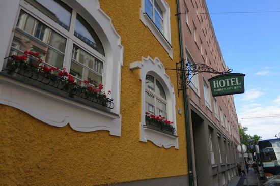 Hotel Markus Sittikus: Hotel Front
