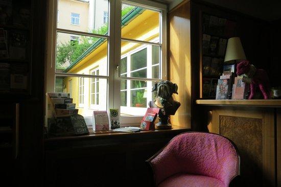Hotel Markus Sittikus: Reception