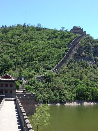 Pinggu Jiangjunguan Great Wall: wall