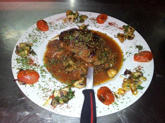 Restaurant S'Kastele : la poire de boeuf