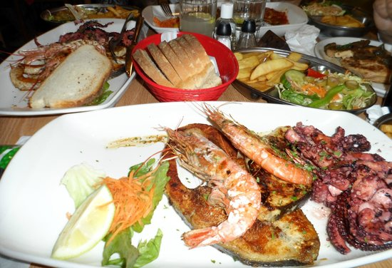 Il Fanal : Mixed Seafood Grill