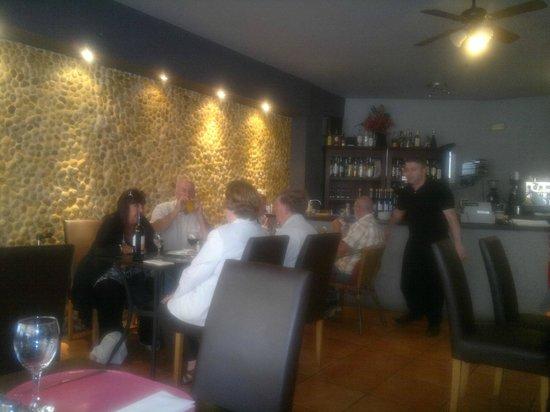 Mastroianni Ristorante Italiano: het restaurant binnen