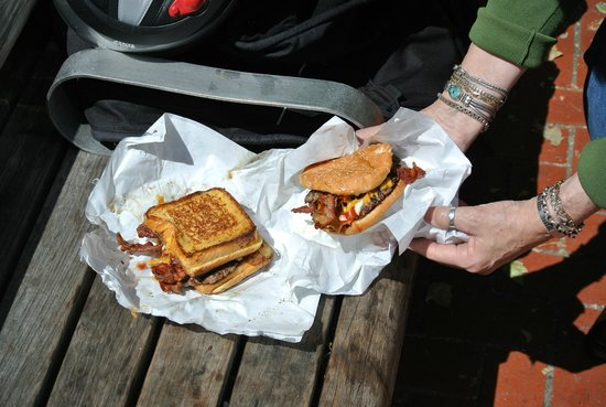 Brunchbox: Monstrosity and Lil Mo burgers