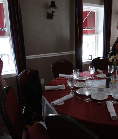 The Federal House Bar & Grille : notre table à l'étage