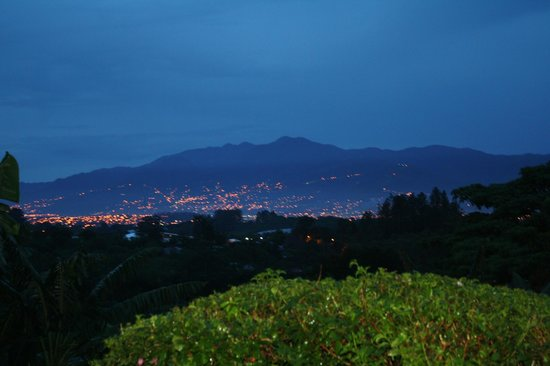 Finca Rosa Blanca Coffee Plantation & Inn: view from our deck of San Jose