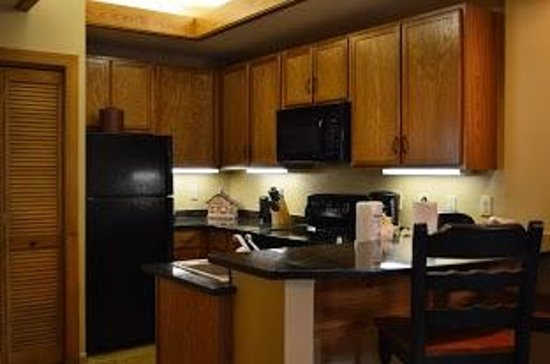 Holiday Inn Club Vacations Gatlinburg-Smoky Mountain : Kitchen