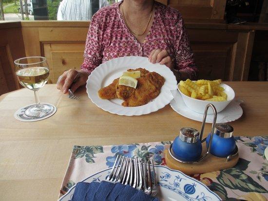 Zauberstub'n Oberammergau: Schweineschnitzel